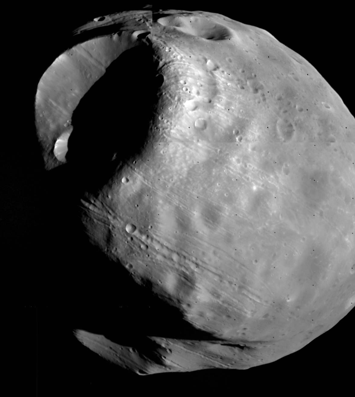 mars phobos from mars view - photo #47