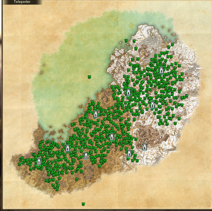 GUIDE] [MEDIA] [**SPOILERS**] Craft Nodes Maps from Harvest Map ...