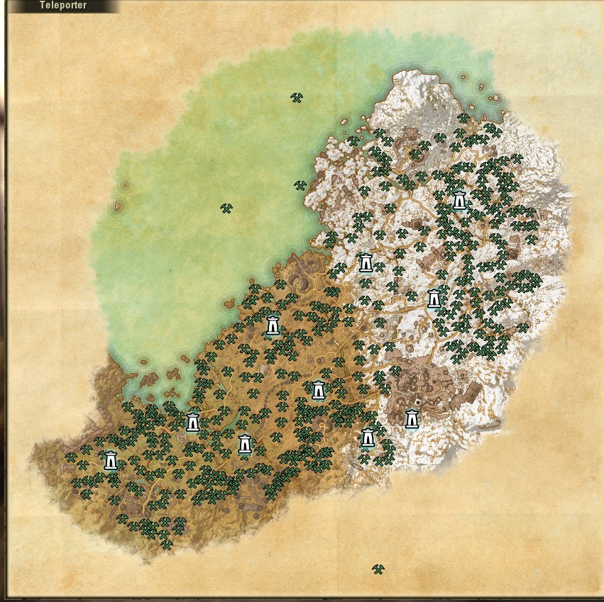 [GUIDE] [MEDIA] [**SPOILERS**] Craft Nodes Maps from Harvest Map Addon - PDF — Elder Scrolls Online