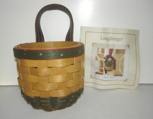 Longaberger Extra Small Foyer Basket : Longaberger little elf or small gatehouse protector ebay