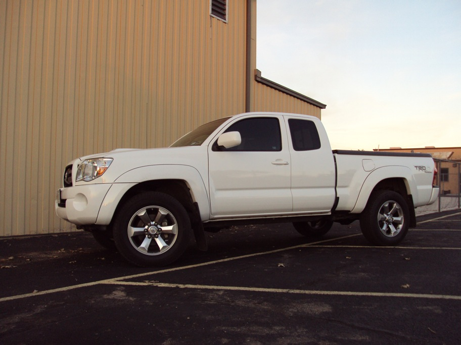 """Tacoma Back Pages >> New 18"""" wheels and new tires - Toyota Nation Forum ..."""