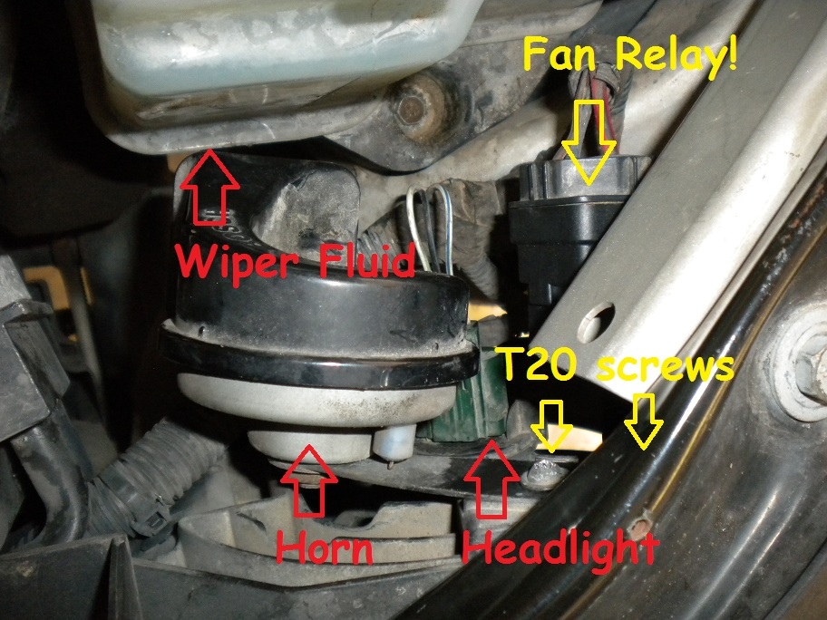 radiator fan staying on after ignition is turned off