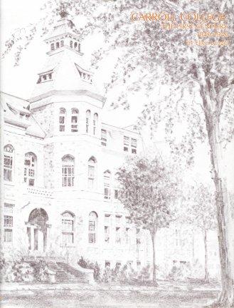 Carroll College:  The First Century, 1846-1946, Langill, Ellen