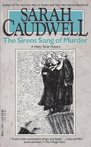 The Sirens Sang of Murder, Caudwell, Sarah