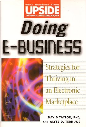 Doing E-Business:  Thriving in an Electronic Marketplace, Taylor, David ; Terhune, Alyse D.