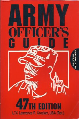 Army Officer's Guide, Crocker, Lawrence P.