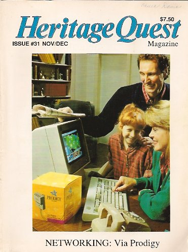 Heritage Quest Magazine #31 November/December 1990, Meitzler (Editor), Leland