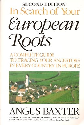 In Search of Your European Roots, Baxter, Angus