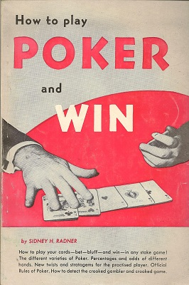 How to Play Poker and Win, Radner, Sidney H