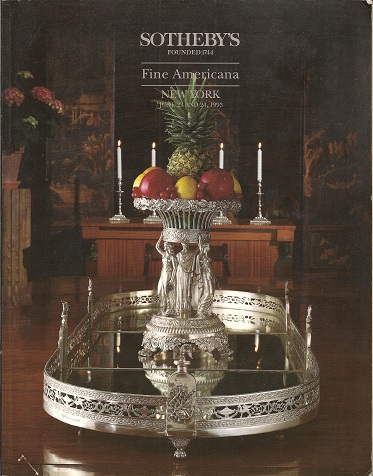 Fine Americana  Auction June 23 and 24, 1993 - Sale 6444, Sotheby's,