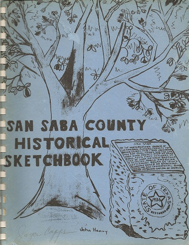 San Saba County Historical Sketchbook