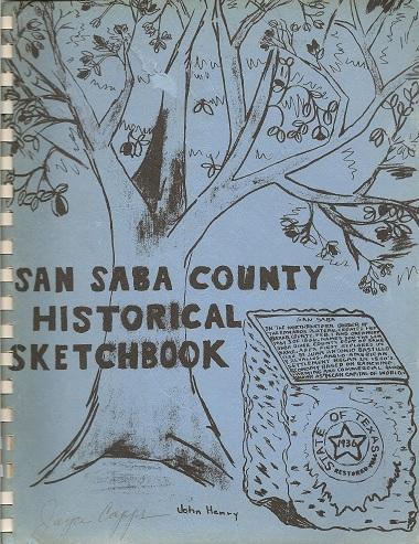 San Saba County Historical Sketchbook