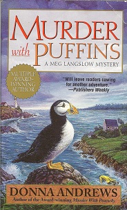 Murder with Puffins, Andrews, Donna