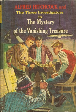 Alfred Hitchcock and the Three Investigators in the Mystery of the Vanishing Treasure, Arthur, Robert; Hitchcock, Alfred