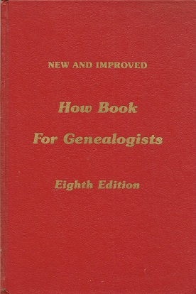 New and Improved How Book for Genealogists, Everton, George