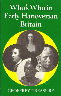 Who's Who in Late Hanoverian Britain, Treasure, Geoffrey