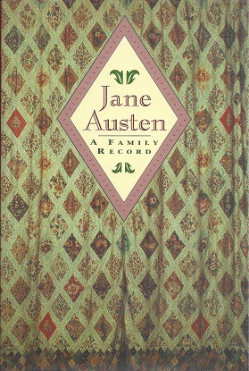 Jane Austen, A Family Record, Austen-Leigh, William