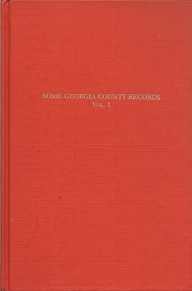 Some Georgia County Records, Lucas, S. Emmett