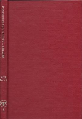 Virginia County Records, Vol. 1:  Westmoreland County, Crozier, William Armstrong