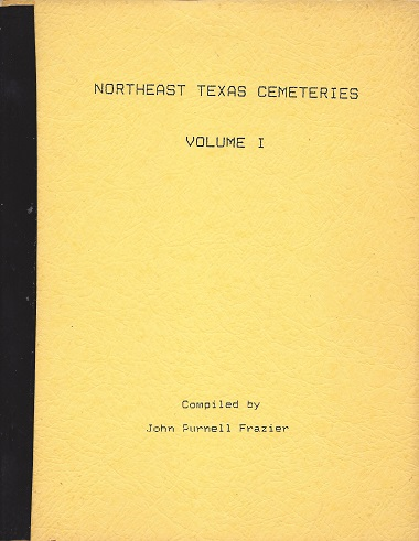 Northeast Texas Cemeteries, Frazier, John Purnell