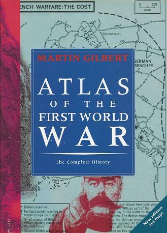 Atlas of World War I, Gilbert, Martin