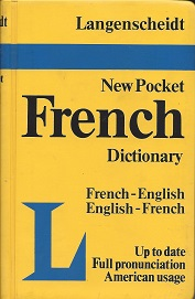 Langenscheidt's Pocket French Dictionary: French-English English-French, The Langenscheidt Editorial Staff