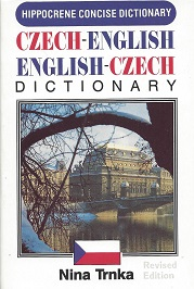 Czech/English, English/Czech Concise Dictionary, Trnka, Nina