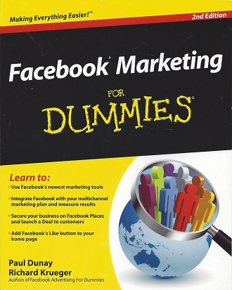 Facebook Marketing For Dummies, Dunay, Paul; Krueger, Richard