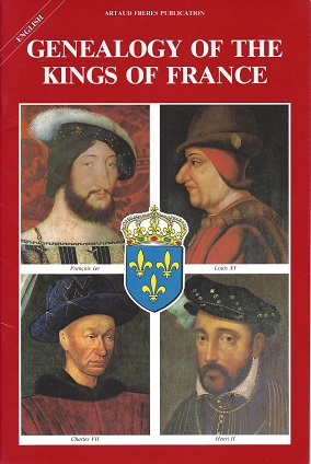 Genealogy of the Kings of France, de Wismes, Armel