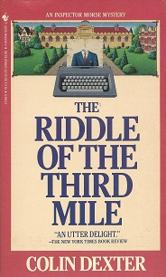 The Riddle of the Third Mile, Dexter, Colin