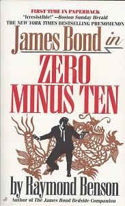 Zero Minus Ten, Benson, Raymond