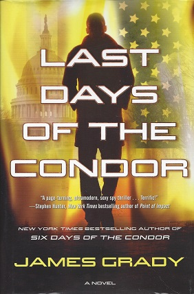 Last Days of the Condor, Grady, James