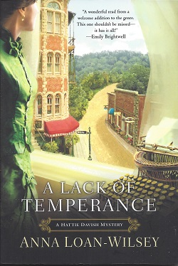 A Lack of Temperance, Loan-Wilsey, Anna
