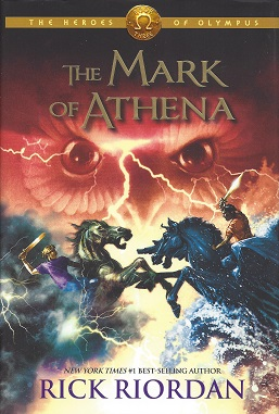The Mark of Athena, Riordan, Rick
