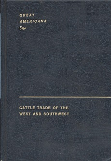 Image for Cattle Trade of the West and Southwest