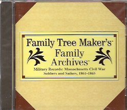 CD: Military Records: Massachusets Civil War Soldiers and Sailors, 1861-1865