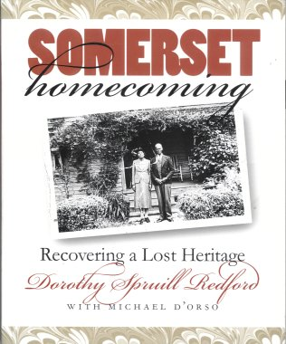 Somerset Homecoming:  Recovering a Lost Heritage, Redford, Dorothy Spruill
