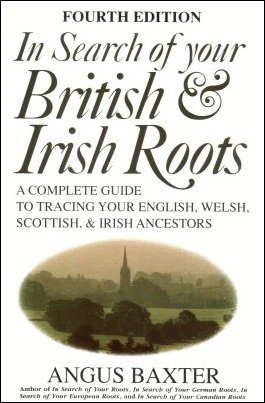 In Search of Your British & Irish Roots, Baxter, Angus