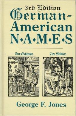 German-American Names, Jones, George F.