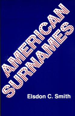 American Surnames, Smith, Elsdon C.