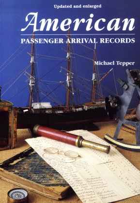 American Passenger Arrival Records, Tepper, Michael