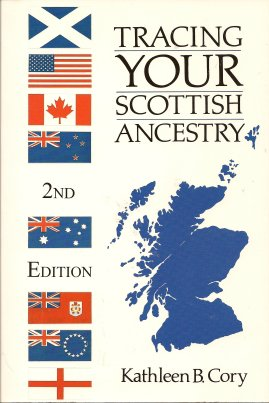 Tracing Your Scottish Ancestry, Cory, Kathleen B.