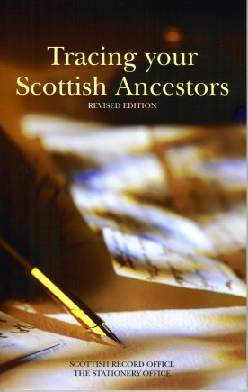 Tracing Your Scottish Ancestors:  A Guide to Ancestry Research in the Scottish Record Ofice, Sinclair, Cecil