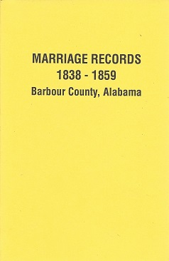 Marriage Records 1838 - 1859 Barbour County, Alabama, Foley, Helen S.