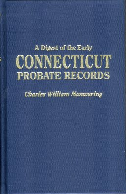Image for Digest of the Early Connecticut Probate Records