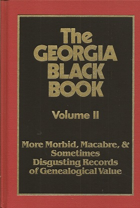 The Georgia Black Book, Davis, Robert Scott