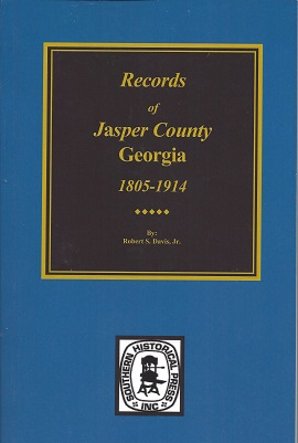 Records of Jasper County, Georgia, Davis Jr., Robert S.