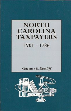 Image for North Carolina Taxpayers 1701-1786