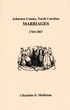 Johnston County, North Carolina, Marriages 1764 - 1867, Meldrum, Charolotte D.