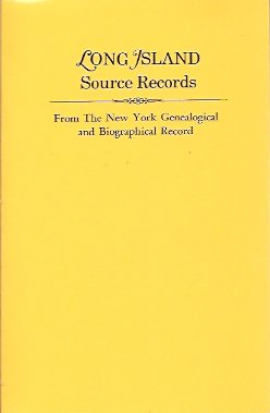 Long Island Source Records from The New York Genealogical and Biographical Record, Hoff, H.